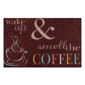 Fußmatte Clean Keeper Wake up Coffee