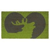 Fußmatte Kokos Deer Heart