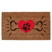 Fußmatte Kokos Dogs Heart