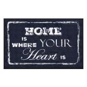 Fußmatte Easy Clean Home Heart