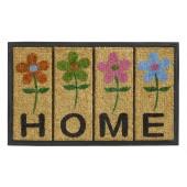 Fußmatte Fun Decor home flowers