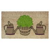 Fußmatte Kokos Garden Watering Cans