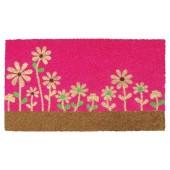Fußmatte Kokos Happy Flowers