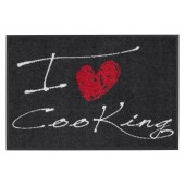 Fußmatte Salonloewe I Love Cooking Heart