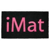 Fußmatte Kokos iMat Pink