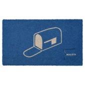 Fußmatte Kokos Mailbox Blue