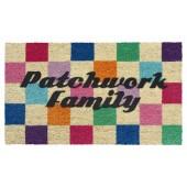 Fußmatte Kokos Patchwork Family