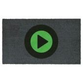Fußmatte Kokos Play Symbol
