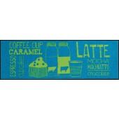 Fußmatte Salonloewe Coffeehouse Blue XXL