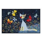 Fußmatte Salonloewe Danza delle Farfalle