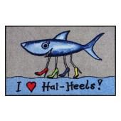 Fußmatte Salonloewe Hai-Heels