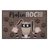 Fußmatte Salonloewe Pfoten hoch Hund