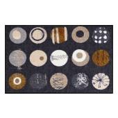 Fußmatte Salonloewe Toffee Circles