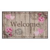 Fußmatte Salonloewe Welcome Roses XXL