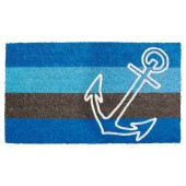 Fußmatte Kokos Stripes Anchor