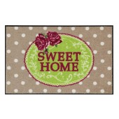 Fußmatte Salonloewe Sweet Home Vintage