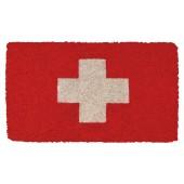 Fußmatte Kokos Swiss Cross
