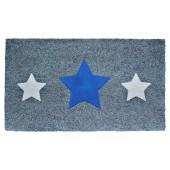 Fußmatte Kokos Triple Star Blue
