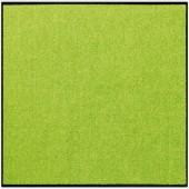 Fußmatte Salonloewe Uni apfelgrün quadratisch