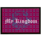 Fußmatte Lako High Print My Kingdom rot