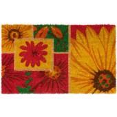 Kokosfußmatte Cocoprint Colori Sonnenblumen