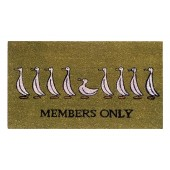 Kokosfußmatte Members only