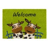 Kokosfußmatte Ruco Print Cows