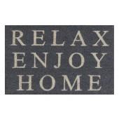 Kokosfußmatte Relax grau