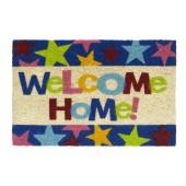 Kokosfußmatte Ruco Print welcome home stars