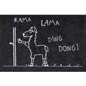 Fußmatte Rama Lama Ding Dong