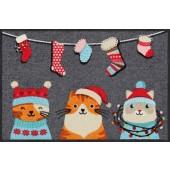 Fußmatte Wintercats