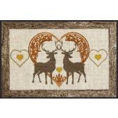 Fußmatte Loving deers