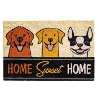 Kokosfußmatte Home sweet Home Dogs