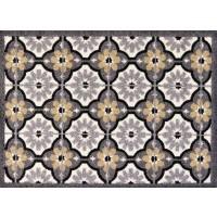 Fußmatte Clean Keeper Fliesen grau beige (