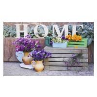 Fußmatte Gallery home flower