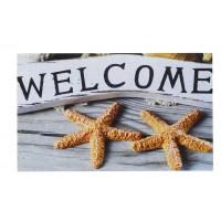 Fußmatte Gallery welcome star