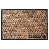 Fußmatte Prestige welcome wicker