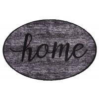 Fußmatte Prestige shape home grey