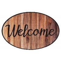 Fußmatte Prestige shape welcome wood