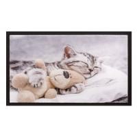 Fußmatte Image teddybear