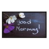 Fußmatte Image good morning