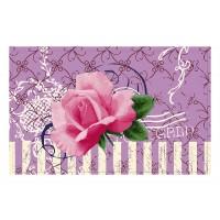 Fußmatte Gallery Pinke Rose