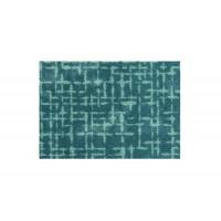 Fußmatte Mikrofaser Checker Plate Aqua
