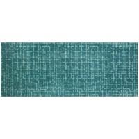 Fußmatte Mikrofaser Checker Plate Aqua XXL