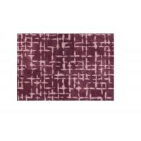 Fußmatte Mikrofaser Checker Plate Aubergine