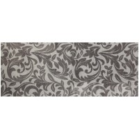 Fußmatte Mikrofaser Lavender Ornament silver XXL