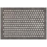 Fußmatte mikrofaser Small Dots Silver
