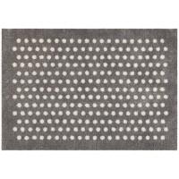 Fußmatte Mikrofaser Small Dots Silver XL