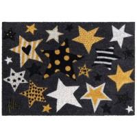 Fußmatte Golden Stars