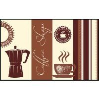 Fußmatte Eurographics Coffee Shop 75 x 120